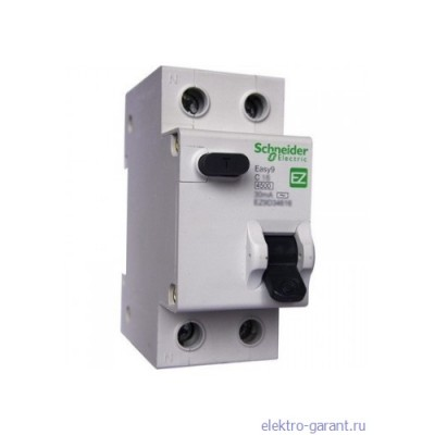 Schneider Electric EASY 9 ДИФ 1P+N 32A 30мА 230В (тип АС)